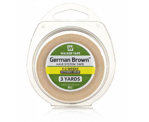 walker tape german brown